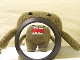 Domo, bubble Domo by fraggingfreek
