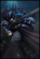 arthas the lich king by logicfun