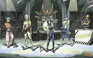 Eureka 7 - Gekkostate Band by MatsuRD
