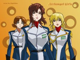Archangel Girls by MapleRose