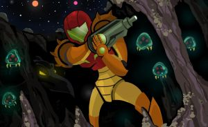 Metroid by Adam-Leonhardt