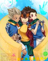 SV-Arcanium : Inazuma Break Trio by retrozero