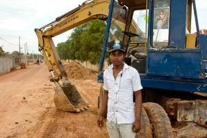 Khmer Roadworker Digger by watto58