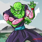 piccolo - battle stance by TheBombDiggity666