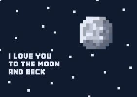 Moon And Back by landry88