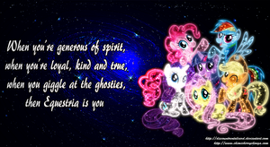 Equestria Is You by DiscountRentalCard