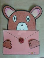 Teddy Bear Birthday Card by baka-rika