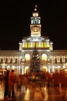 Tower of Town Hall, Arad 1 by mariustipa