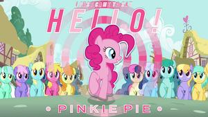 Pinkie Pie just came to say hello! by AdrianImpalaMata