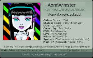 Manga Faced Aomi ID by AomiArmster