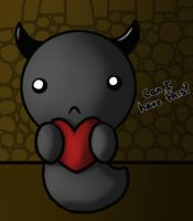 Binding of Isaac Rebirth---Dark Bum by CollectorsPrize