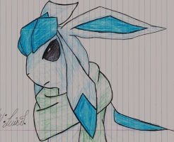 Glaceon by ThatOneSaint