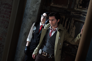 The Evil Within Cosplay - Krimson Detectives by LadyofRohan87