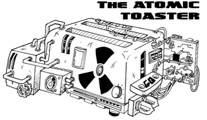 The Atomic Toaster by CaptainInvincible