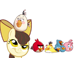 Poundcake and her angry friends by AlerarityFrancoise