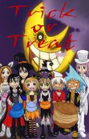 Soul Eater Halloween by ArcaninePup