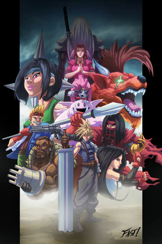 Final Fantasy VII Tribute by Kyle-Fast