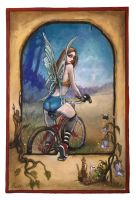 Bicycle Fairy by RonnyVardy