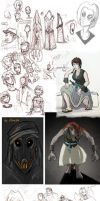 Doodle Dump May 2011 by Beanjamish
