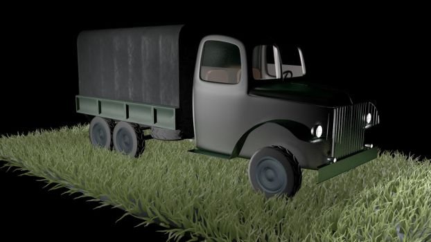 WWII Truck by sizzlee