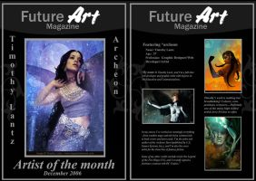 Monthly Artist - December by Future-Art-Magazine