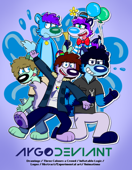 Wodi and Friends by AygoDeviant