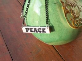 Peace Necklace by tobilou
