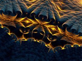 The eyes of the volcano. by Kondratij