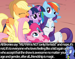 MLP:FiM is for all people by NekoHitomi