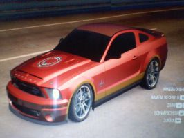 Iron Man as Shelby GT500KR by CynderxNero