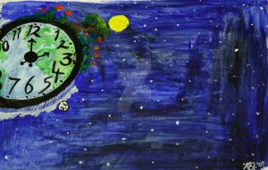 The World is a Ticking Clock by Dhria