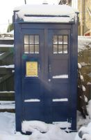 Tardis Police Box hand built by my clever hubby by Valhallia