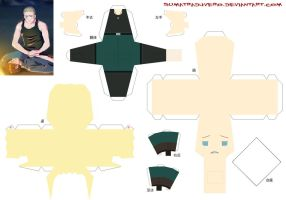 Creepypasta Papercraft Hetalia 23.5 Germany by SumatraDjVero