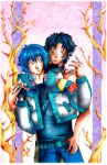 Aoba and AllMate by Iskah-Ventus