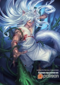 Kurama Fox by xong