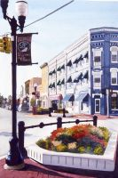 Williamston, Michigan by silentsketcher