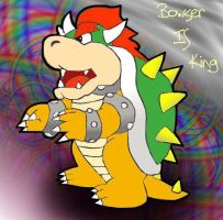 Bowser Is King by PurplePeach87