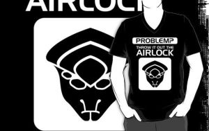 Throw it Out the Airlock in White by VHCrow