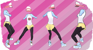 MMD Outfit 64 by MMD3DCGParts