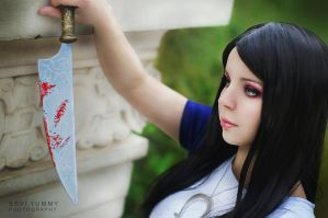 Alice Madness Returns - Classic Blue Dress by SeviYummy