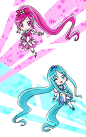 Chibi HeartCatch by himichu
