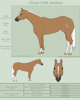 PD Sissys Little Jetolena - QH by painted-cowgirl