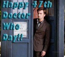 Happy 47th Doctor Who Day by Cawillsea