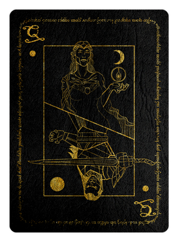 LADY GALADRIEL / ELROND QUEEN OF SPADES (CT) by TMC-INK