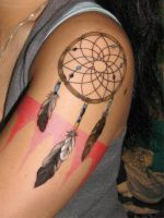 What Will Be My Finished Dream Catcher by MissaDee