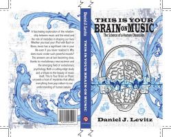 Brain on Music book cover by dmillustration