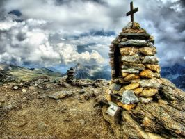 Summit Cross by pingallery
