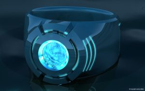 Blue Lantern Power Ring by JeremyMallin