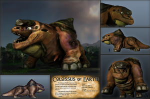Colossus of Earth by GninjaGnome