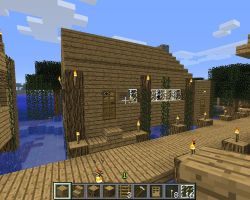 Minecraft screenshot-Swampy's cafe and bait shop 4 by falcon01